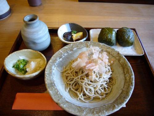 行仙_めはり寿司定食