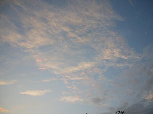 なんとなく綺麗っぽい雲