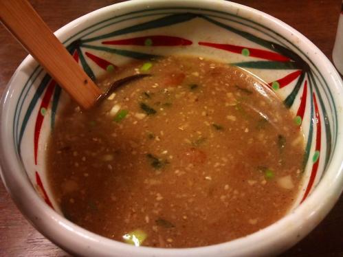 周月_鶏骨スープ、スープ割