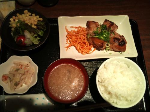 彩鶏キッチン_鶏のしょうが焼き