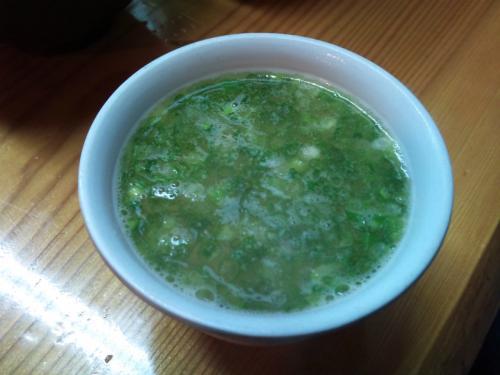 門出_鶏スープ