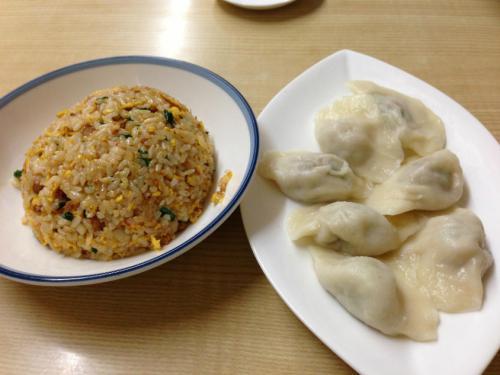 台湾チャーハン&水餃子