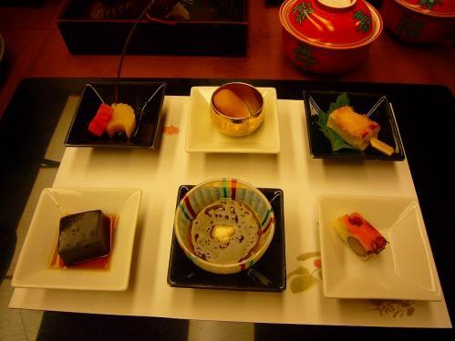 ニュー浜島_晩御飯_前菜