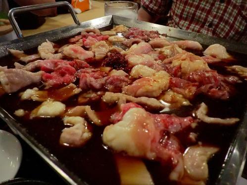 萬の屋_和風ホルモン鍋