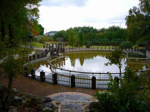 花の文化園_池