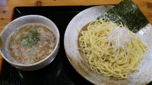 実咲庵_油かすつけ麺