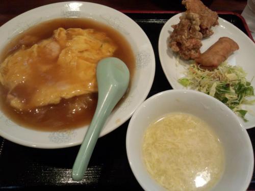 天津飯セット(700円)