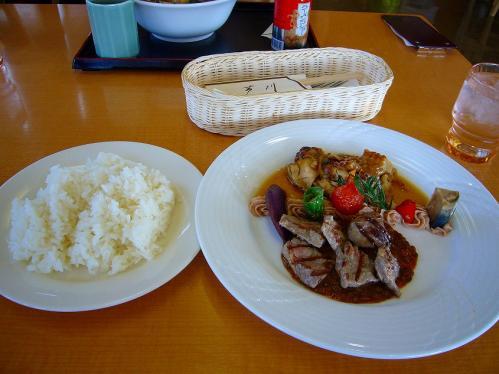 吹田SA_レストラン