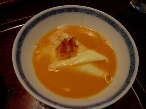 天ぷら松_桜エビスープ
