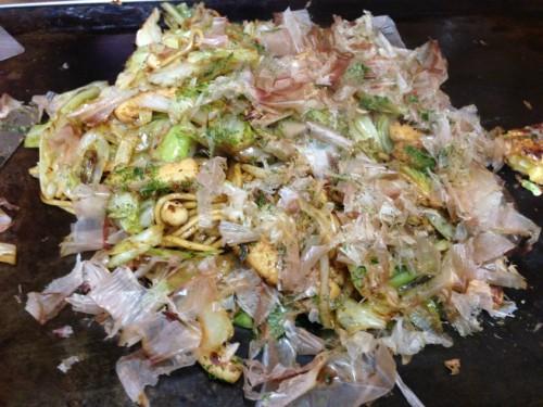 みやこ_焼きそば、野菜炒め