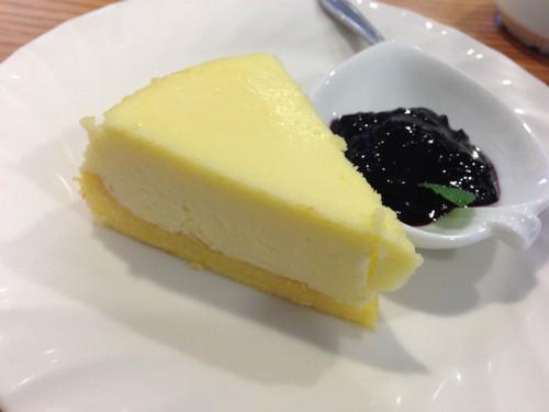 一休珈琲店チーズケーキ