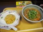 豚汁そばと野沢菜チャーハン
