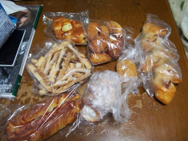 キングパンのパン色々
