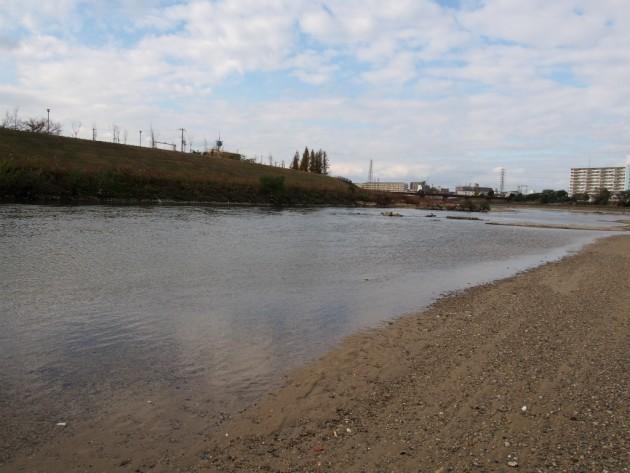 大和川の水が意外と綺麗