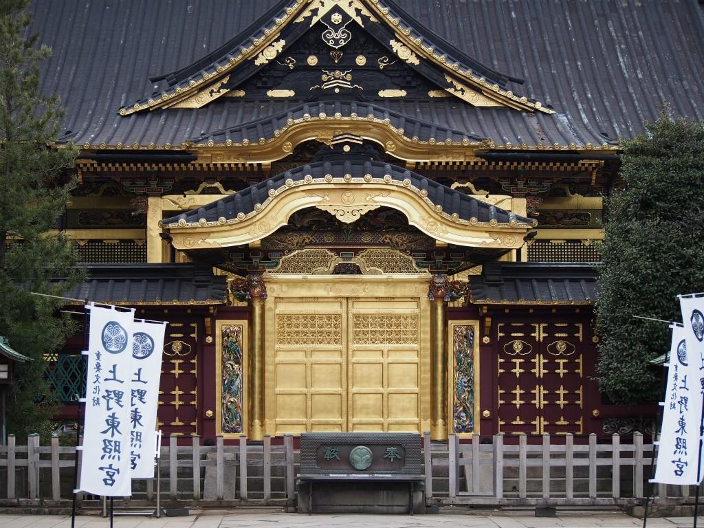 上野東照宮_近くで見ると綺麗な金ピカ