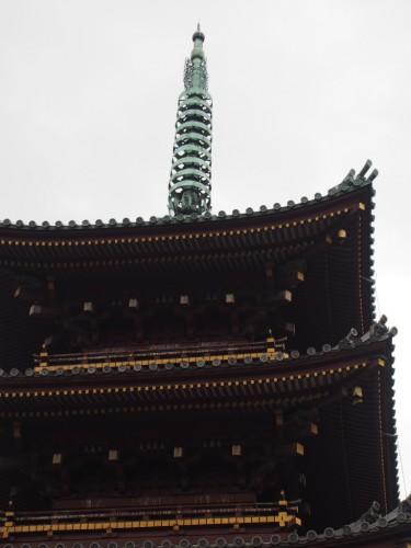 上野動物園_五重塔天辺