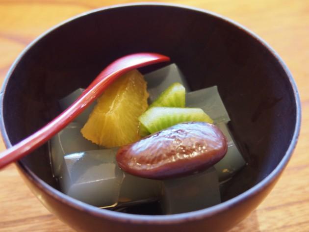 松原庵 欅_ランチのデザート